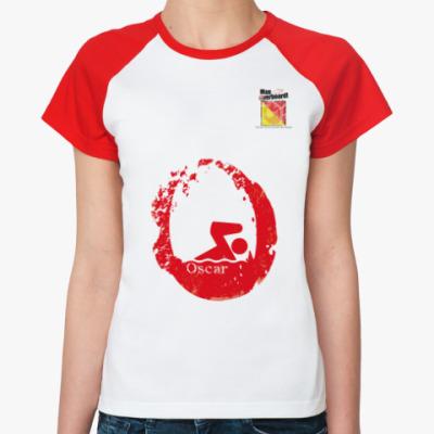 Женская футболка реглан Морской флаг «Oscar»