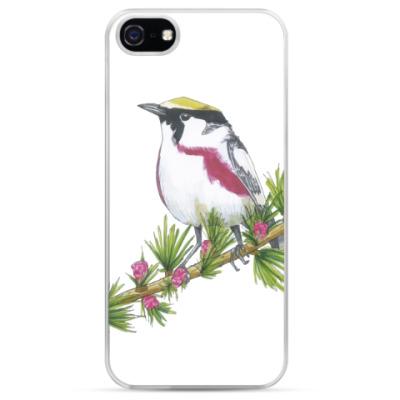Чехол для iPhone Серия: птицы