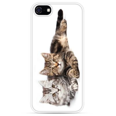 Чехол для iPhone Милые котики, коты и котята