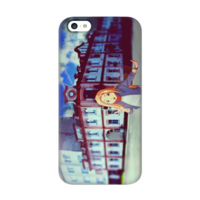 Чехол для iPhone 5c Ня, тянка