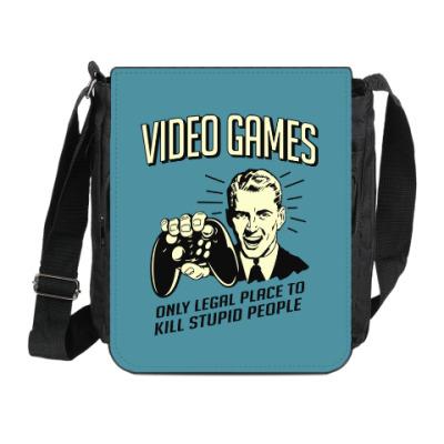 Сумка на плечо (мини-планшет) Video Games