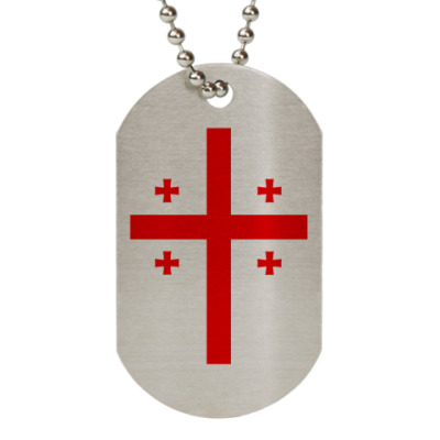 Жетон dog-tag  Georgia (Грузия)