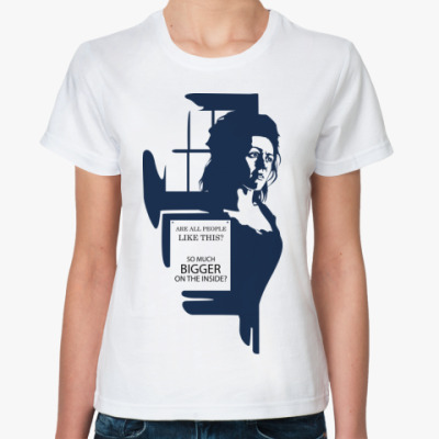 Классическая футболка TARDIS