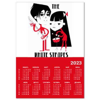 Календарь  A2 White Stripes