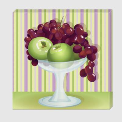 Холст Натюрморт с фруктами