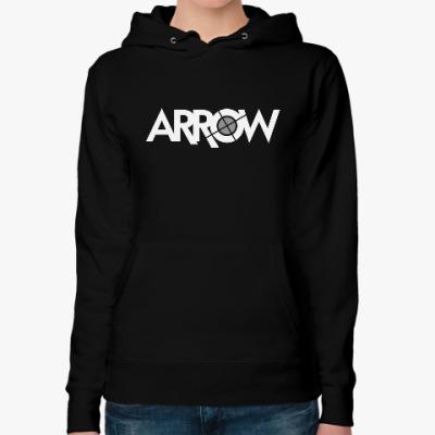 Женская толстовка худи Arrow