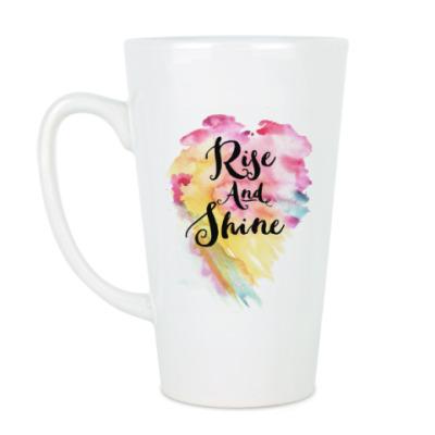 Чашка Латте Rise and Shine