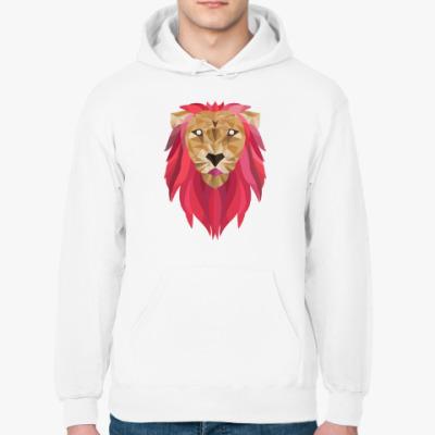 Толстовка худи Лев / Lion