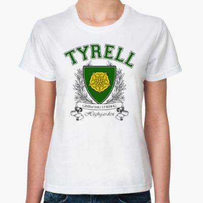 Классическая футболка House Tyrell