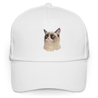 Кепка бейсболка Grumpy Cat / Сердитый Кот