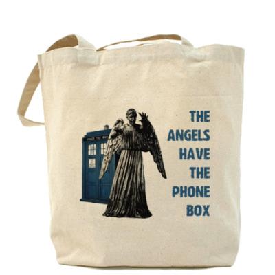 Сумка The Angels have the phone box