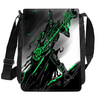 Сумка-планшет Мертвый металист