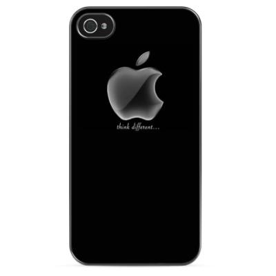 Чехол для iPhone Черный Apple