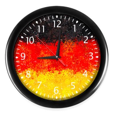 Настенные часы Флаг Германии