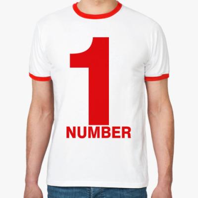 Футболка Ringer-T Номер Один