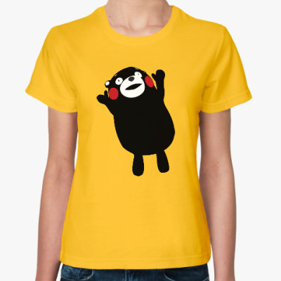 Женская футболка Кумамон / Kumamon