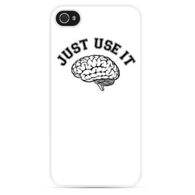 Чехол для iPhone Мозг
