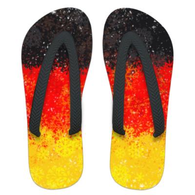 Шлепанцы (сланцы) Флаг Германии