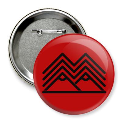 Значок 75мм Символ Твин Пикс Twin Peaks