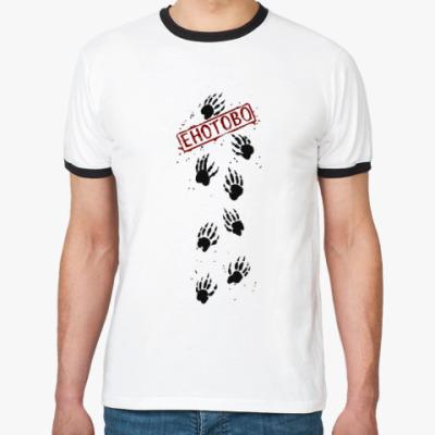 Футболка Ringer-T Енотова футболка!
