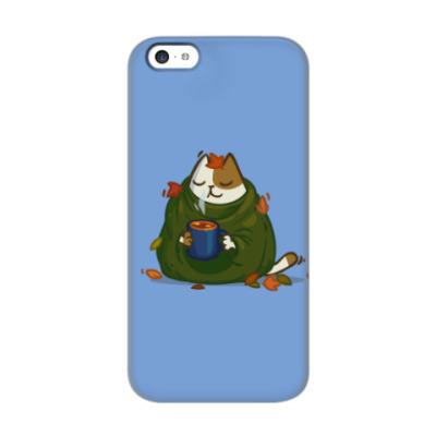 Чехол для iPhone 5c Пятничный Котик №23