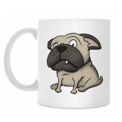 Кружка grumpy dog