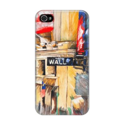 Чехол для iPhone 4/4s Уолл стрит