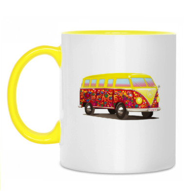 Кружка Автобус для хиппи