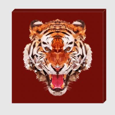 Холст Тигр