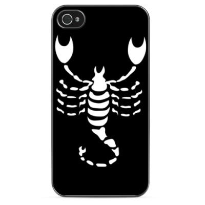 Чехол для iPhone Знаки зодиака: Скорпион