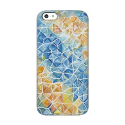 Чехол для iPhone 5c Рыбы сквозь блики