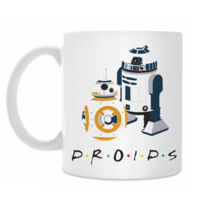 Кружка Star Wars BB-8 Droid и R2D2