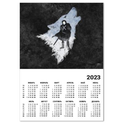 Календарь Игра Престолов: Джон Сноу