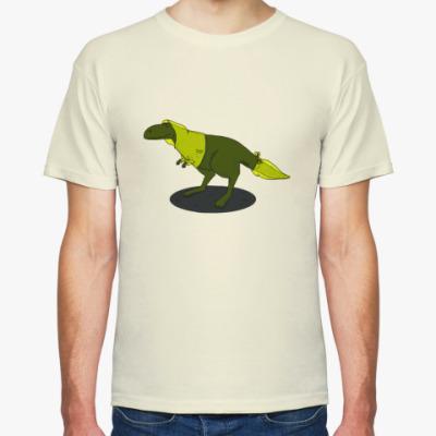 Футболка Скептический тираннозавр