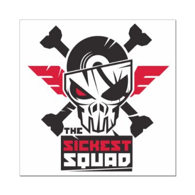 Наклейка (стикер) The Sickest Squad
