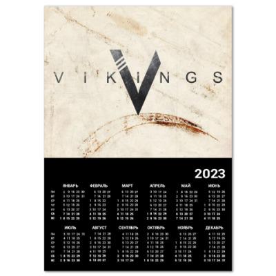 Календарь Vikings
