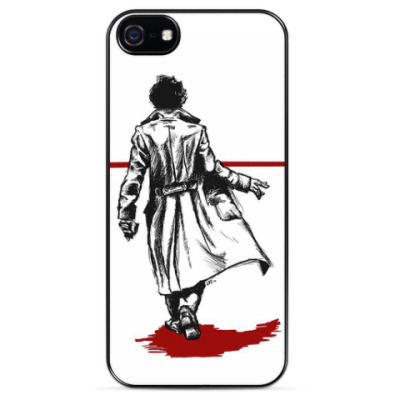Чехол для iPhone Bloody Sherlock