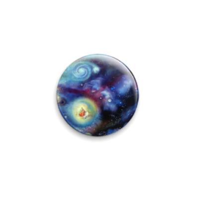 Значок 25мм Вселенная