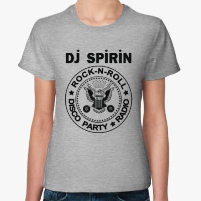 Женская футболка Dj Spirin