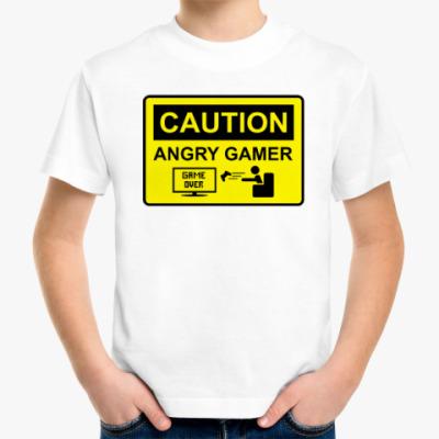 Детская футболка Angry Gamer