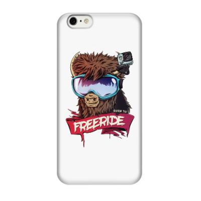 Чехол для iPhone 6/6s Born to freeride
