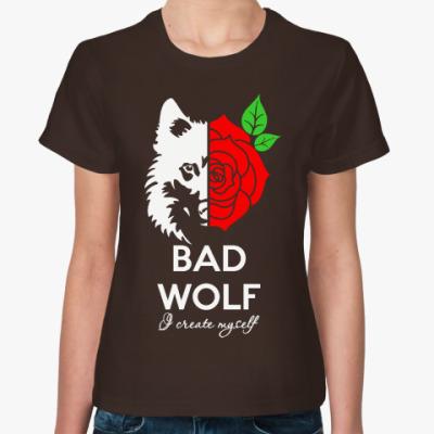 Женская футболка Bad Wolf Доктор Кто