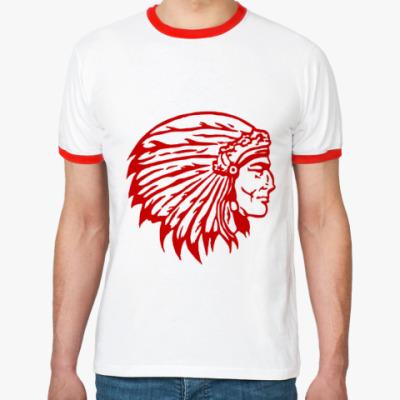 Футболка Ringer-T Вождь краснокожих