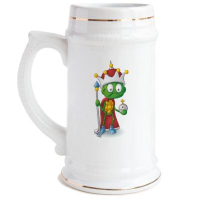Пивная кружка Добрый Черепашонок Король