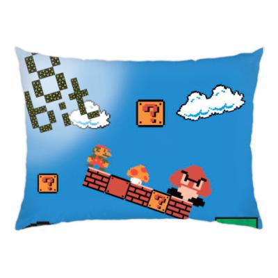 Подушка mario 8 bit