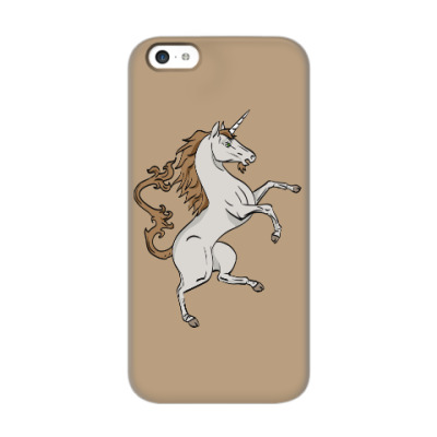 Чехол для iPhone 5c Единорог