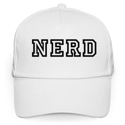 Кепка бейсболка Нерд (Nerd)
