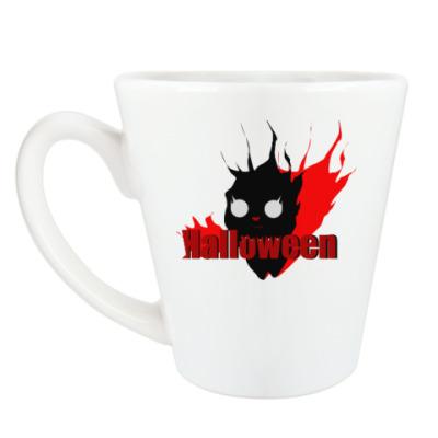 Чашка Латте ХелоуКот