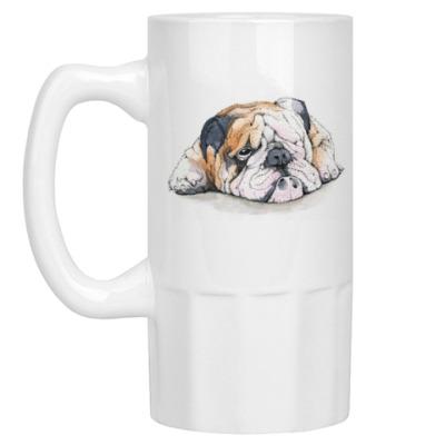 Пивная кружка Dog