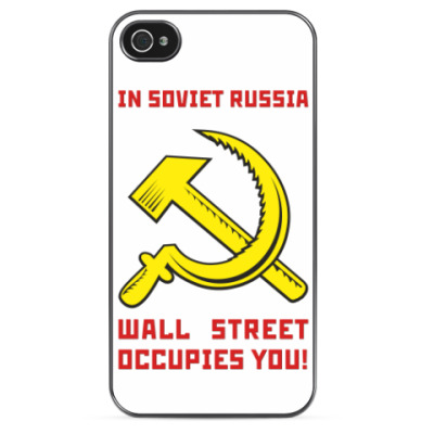 Чехол для iPhone BACK IN USSR